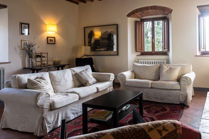 Chianti Rufina apartment near Florence - Pelago - Daire