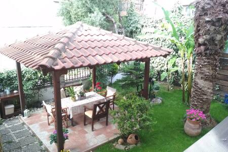 Cosy house with garden