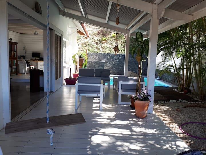 Maison beach house originale et très sympa...