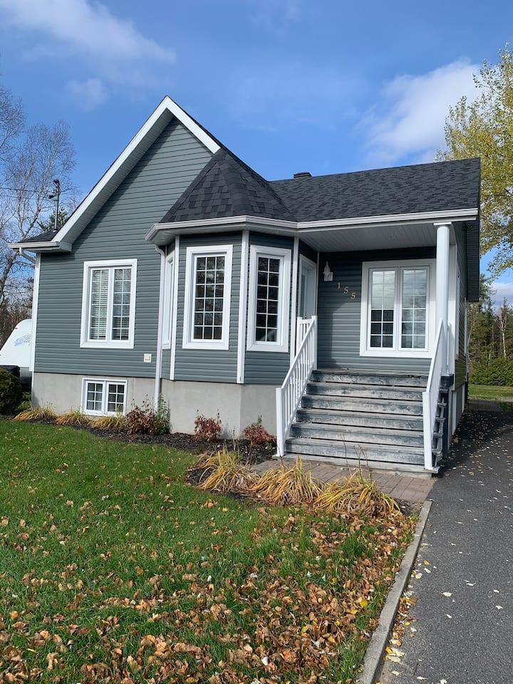 Maison vauvert au Lac St-Jean