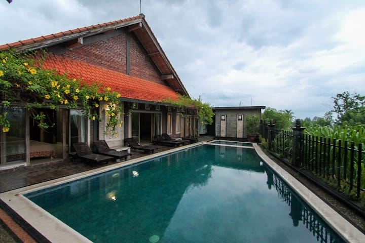 Private House for 6 pax W/Pool & Rice Fields View