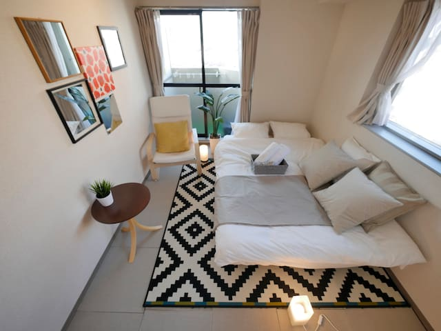 Center of Shibuya with Free wifi !! - Shibuya-ku - Apartamento