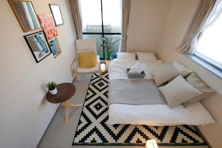 Center of Shibuya with Free wifi !! - Shibuya-ku - Apartemen