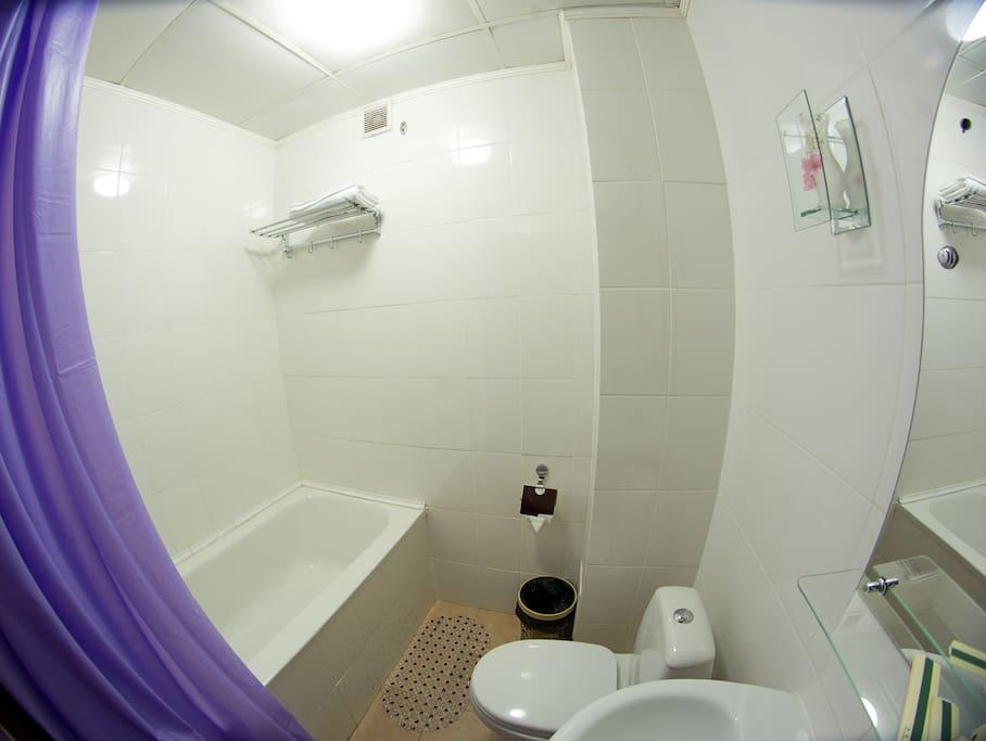 Типовой сан. узел/ванная комната