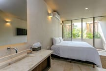 Master Bedroom #1: King Sized Bed, Pillow Topped Mattress, Private Balcony