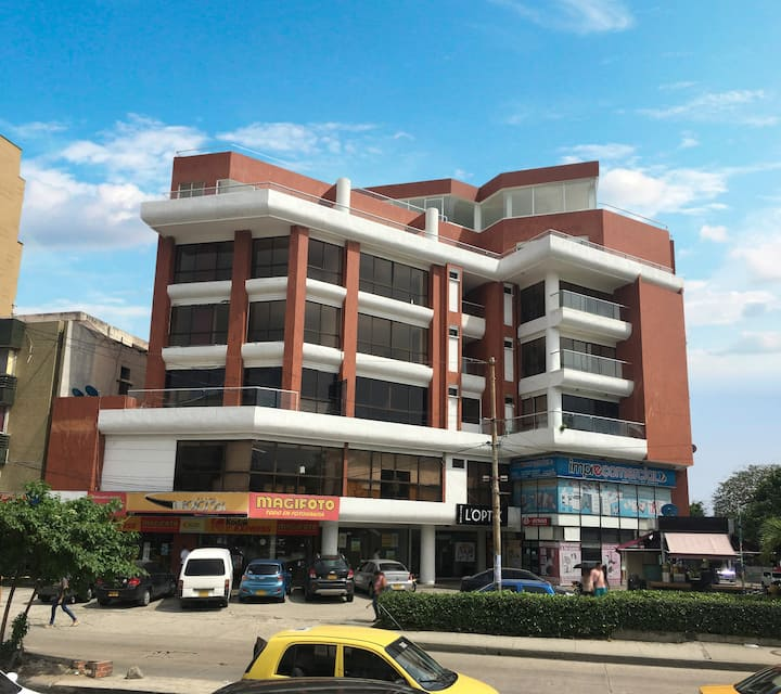 New apartment near commercial shops, Best location