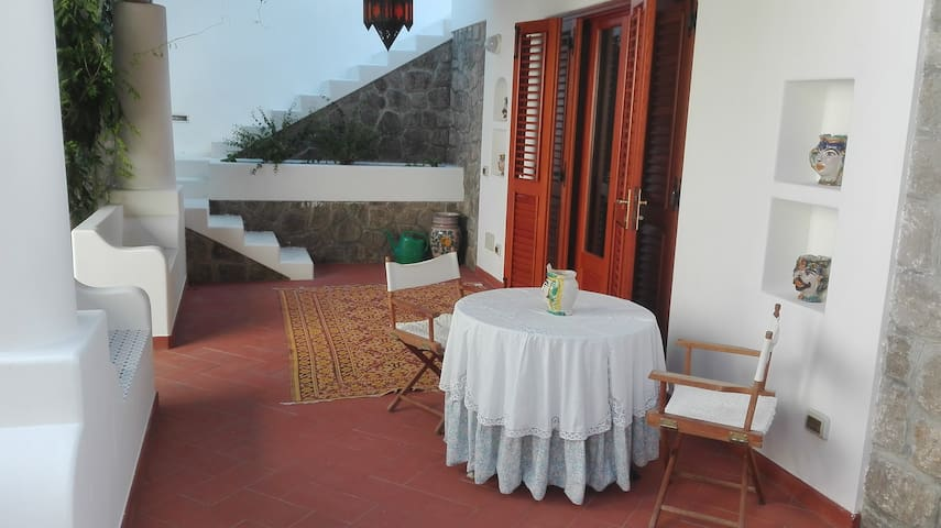 Orange garden villa - Lipari