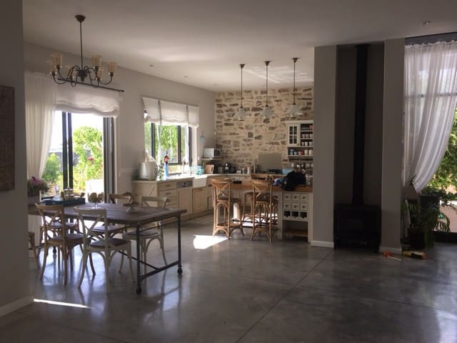 Beautiful Private Villa for 2 weeks in August! - Beit Yitzhak-Sha'ar Hefer - วิลล่า
