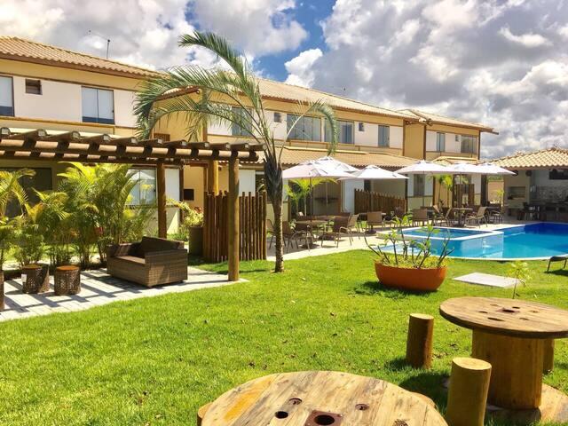 Vacaciones en Itacimirim - Casa de 3 habitaciones