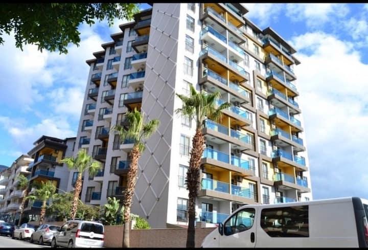 Granada city Alanya - family concept.