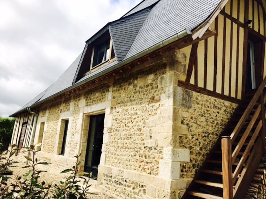 Le h trey maison d 39 h tes en normandie 27 maisons for Maison hote normandie