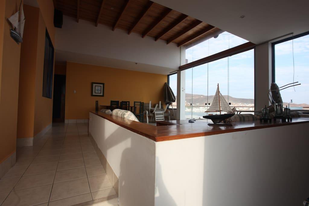 Sala y comedor segundo piso