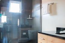 Casita #2.  In town. Outdoor sauna and shower!