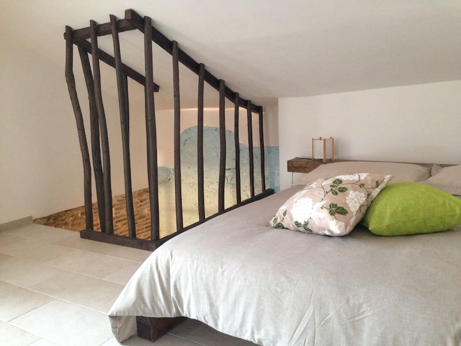 A double bedroom in Sole Uno.
