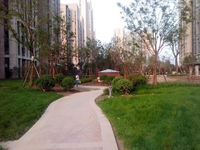 高层舒适主卧,有阳台,采光极佳,有暖气 - Zhengzhou - Wohnung