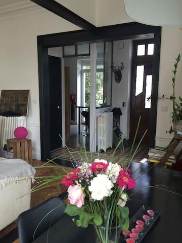 Chambre calme dans maison des années 30 - Clermont-Ferrand - Rumah