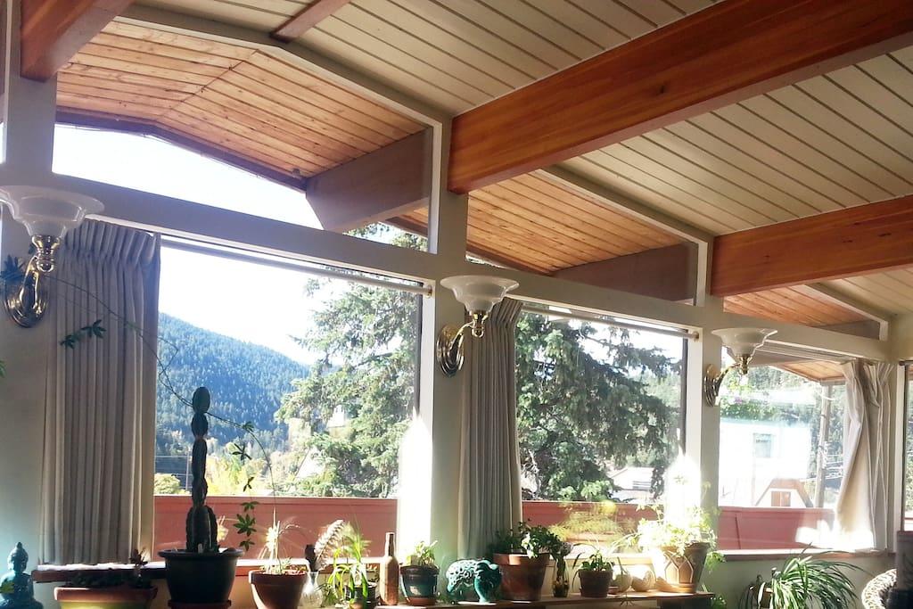 Living & dinning area windows