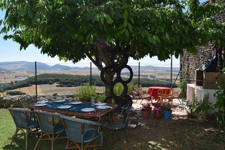 Casa con jardín en Valle de Yerri - Iruñela - Haus