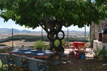 Casa con jardín en Valle de Yerri - Iruñela - Casa