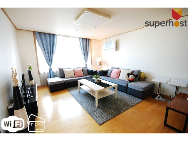 [M3]2BR/1Bath BIG Hall[BEST SEOUL STN]