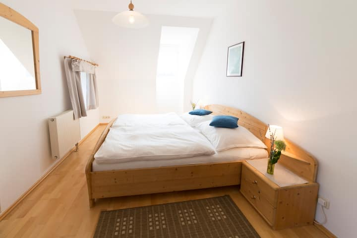 Bright bedroom nearby Riegersburg