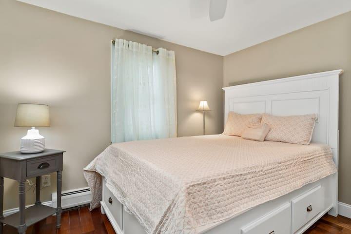 Bedroom #2  Under Bed Storage