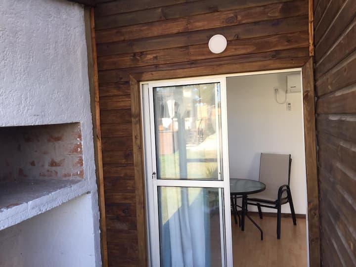 Cabaña 1 dormitorio en Punta Negra