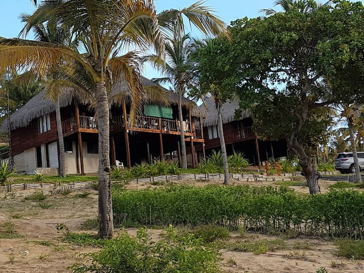 Self Catering House at Barra Beach close to Tofo