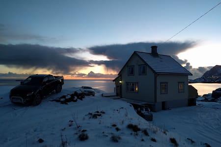 Koselig hus med fenomenal utsikt - Tind