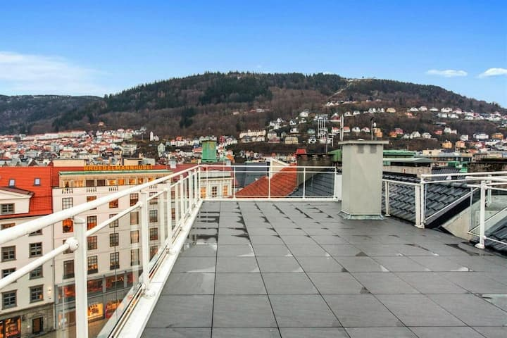 High standard apartment, very central in Bergen C.