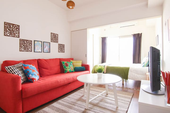 Cozy room, only 1 min walk from subway STA