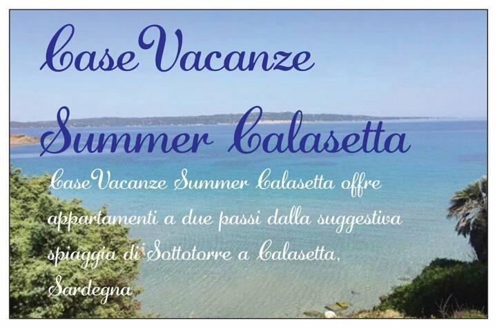 CaseVacanze Summer Calasetta Orange