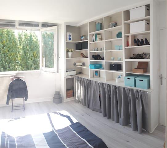 Chambres dans appartement cosy - Domont
