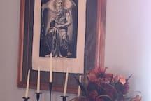 """Salvador Dali's """"Moses""""."""