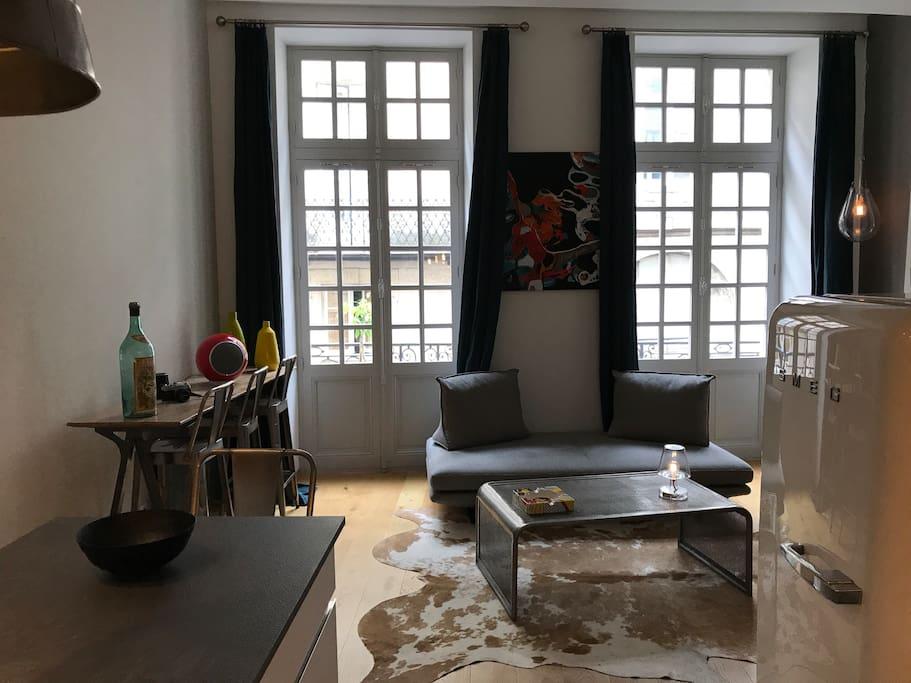 Appartement ultra centre appartements louer bordeaux for Location appartement region bordeaux