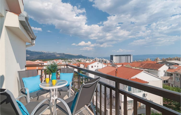 Holiday apartment with 1 bedroom on 43m² in Split