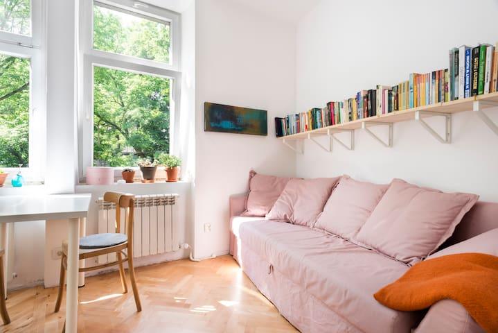 Small and cozy studio //  Podgórze District