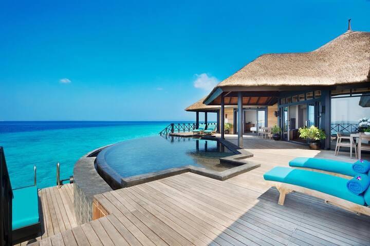JA MANAFARU MALDIVES  BEACH BUNGALOW