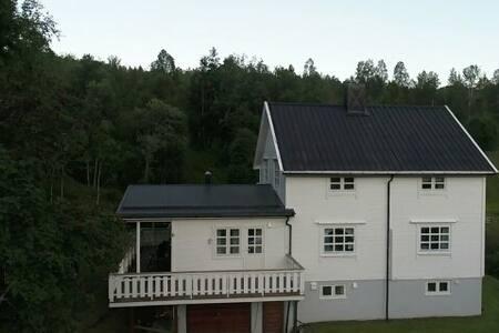 Nordlys i Lyshaugveien 6 Skøelv,30 min fra Senja