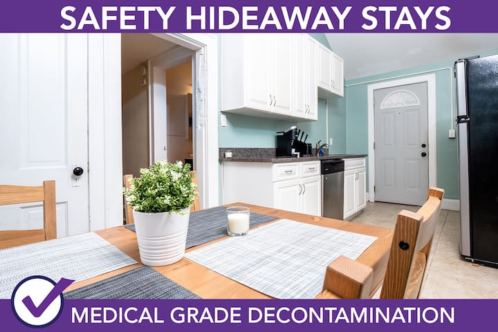 Safety Hideaway - Medical Grade Clean Home 23