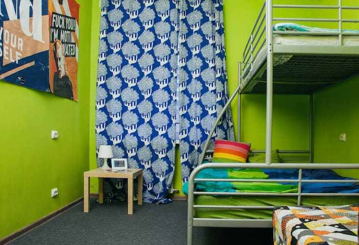 Family room in hostel Dostoevsky (2-3 person) - Nowosybirsk - Hostel