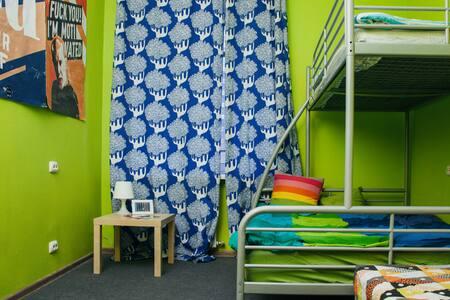 Family room in hostel Dostoevsky (2-3 person) - 新西伯利亚 - 旅舍