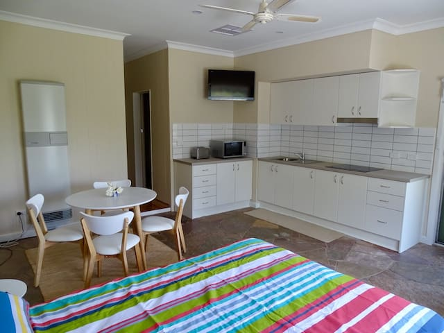 Benvenuti (Welcome) Bendigo Studio Apartment
