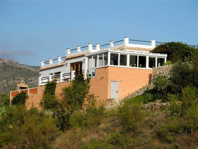 Komfort-Ferienhaus mit eigenem Pool, 3 Terrassen - Órgiva - Rumah
