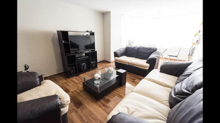 Suite pardo apartament