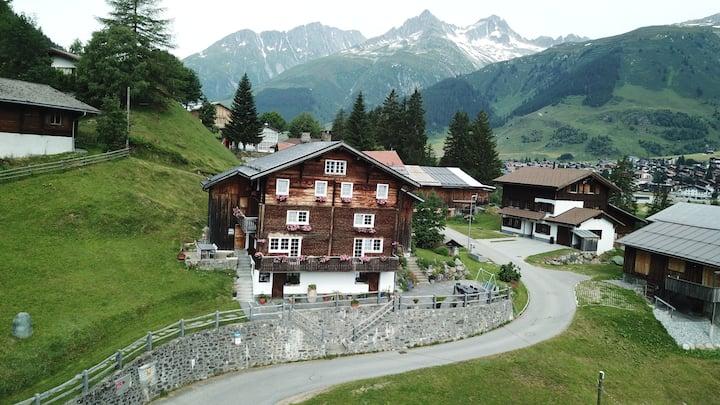 "Historical Walser house ""tgesa1783"""