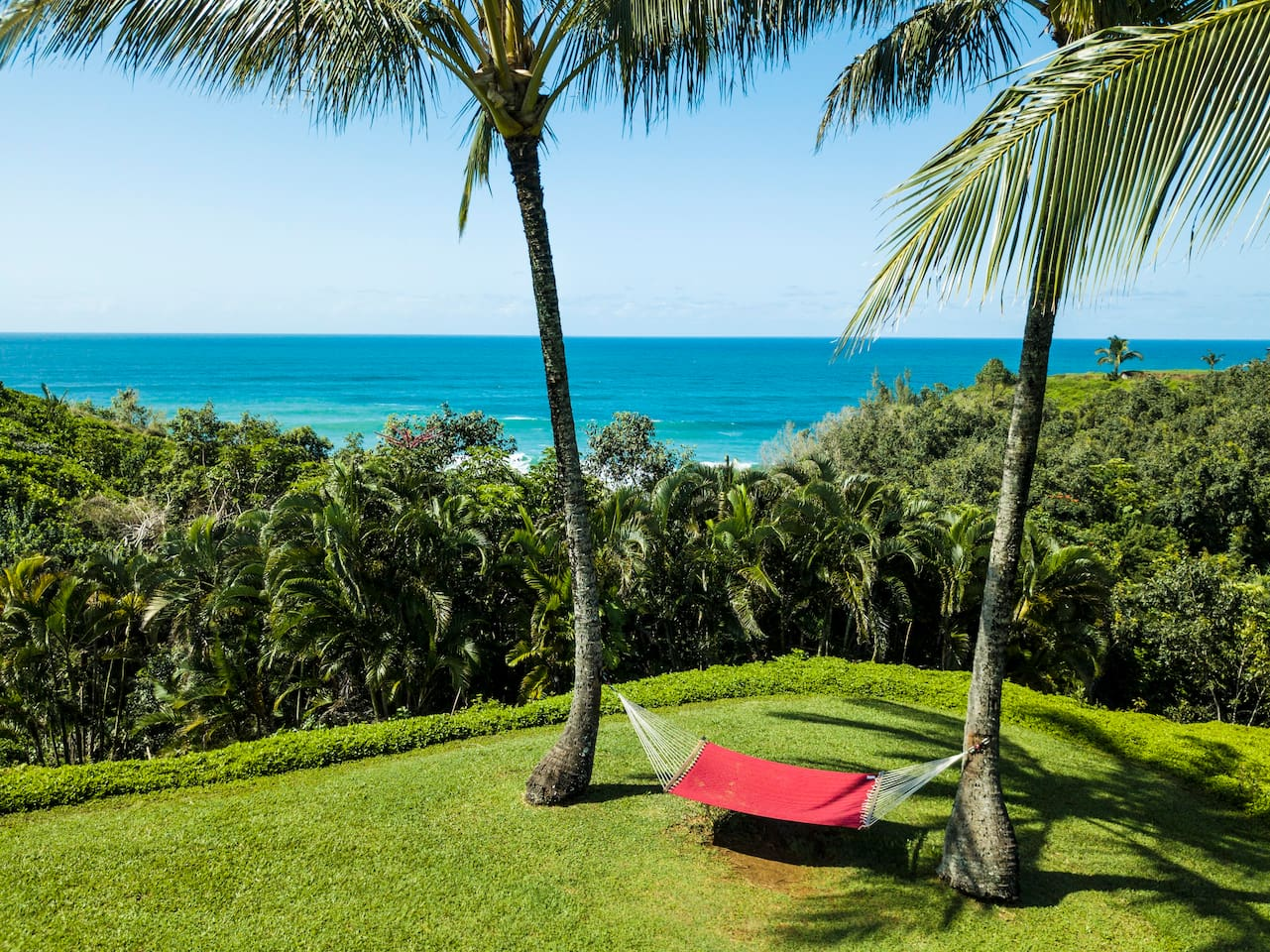 Majestic views of Bali Hai and a relaxing hammock are just a few minutes walk through the condo complex away.
