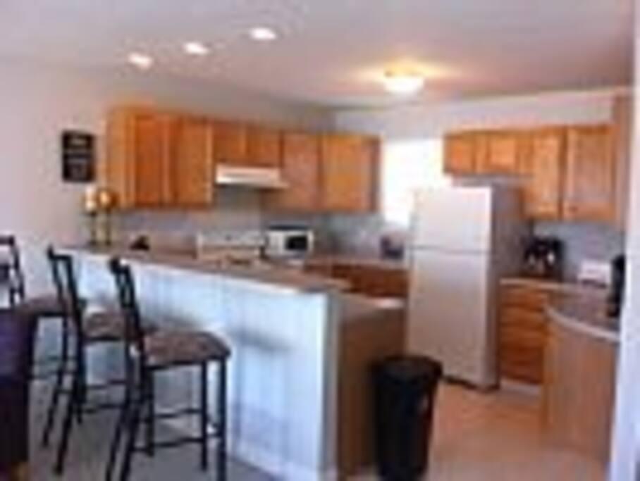 Fully stocked- kitchen on main floor