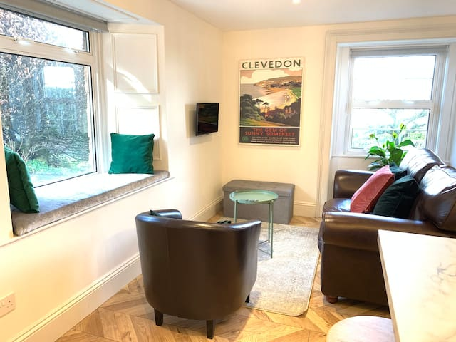 Luxury central Portishead apartment with sea view