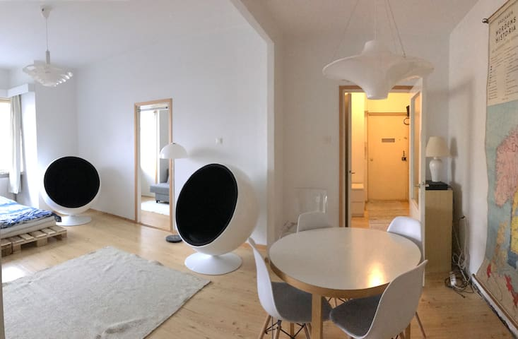 KALLIO, EAST DOWNTOWN SPACIOUS 3 ROOMS